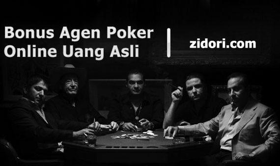 Bonus Agen Poker Online Uang Asli